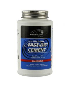 Self-Vulcanising Fast-Dry Cement / Tyre Glue - 1/2 Pint (.2366 Litre) - For Cars, Vans & Motorcycles