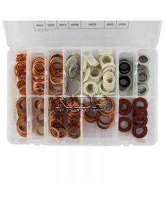 Sump Plug – Washers - Citroën, Peugeot, Renault, Vauxhall/Opel, VW, Ford (OHC), Rover, Rover/Honda, Metro Mini, Fiat, Mercedes, Volvo, Toyota (Small)