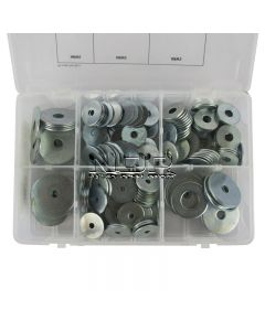 Assortment Box of Repair Washers - M5, M6, M8, M10 - 240 Pieces
