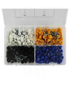 Security Number Plate Fasteners