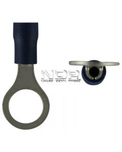 Blue Insulated Terminals - Rings - 8.4mm