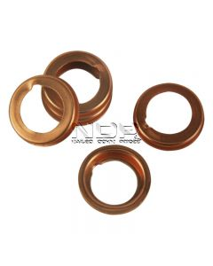 Pack of 50 Sump Plug Washers - Copper Compression Washers 12 x 17 x 2mm