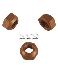 Exhaust Manifold Nuts - Copper Flashed Steel - M8 x 1.25mm