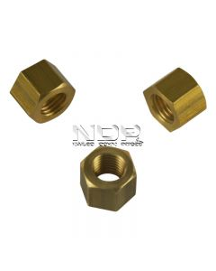Exhaust Manifold Nuts - Brass - M10 x 1.25mm