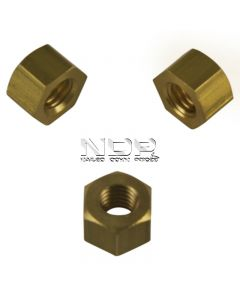 Exhaust Manifold Nuts - Brass - M8 x 1.25mm