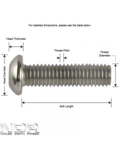 H_M4_A4 ISO7380 Socket Button Screws