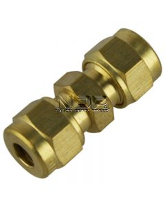 """Brass Tube Couplings – Imperial - 3/16"""""""