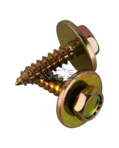 """Sheet Metal Screws with Captive Washer - 10 x 3/4"""""""