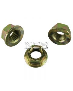Exhaust Manifold Nuts - Zinc Plated Steel - M8 x 1.25mm