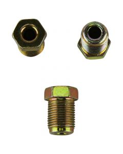 """Male Brake Nuts for 3/16"""" Pipe - Metric - Short"""
