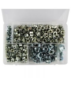 Serrated Flange Nuts – Metric - M5, M6, M8, M10, M12