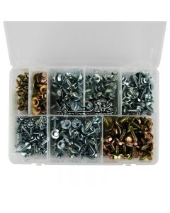 Sheet Metal Screws with Captive Washers