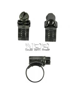"""JUBILEE Hose Clips - Pack of: 10 - Range (mm):  22- 30 (7/8"""" – 1 1/8"""") - Size No.: 1A (30)"""
