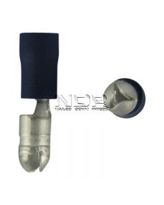 Blue Insulated Terminals - Bullets - 5.0mm