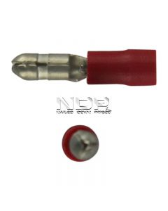 Red Insulated Terminals - Bullets - 4.0mm
