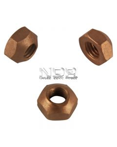 Exhaust Manifold Nuts - Brass - M10 x 1.50mm