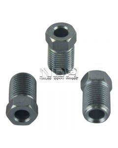 """Male Brake Nuts for 3/16"""" Pipe ¬- Metric - Full Threaded"""