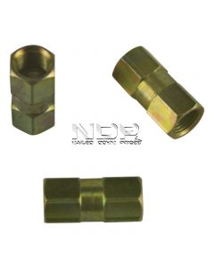 """Brake Tubing Connectors for 3/16"""" Pipe - Female"""